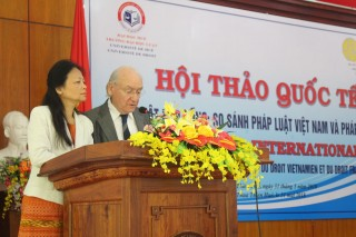 "International Conference on ""Contract Law: A Comparison of Vietnamese Law and French law"""
