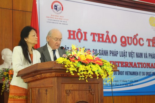 """International Conference on """"Contract Law: A Comparison of Vietnamese Law and French law"""""""