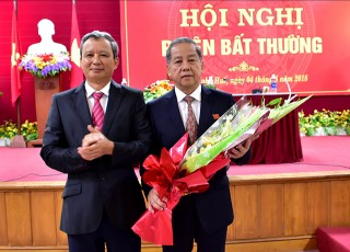 Mr. Phan Ngoc Tho elected Deputy Secretary of the Provincial Party Committee and Chairman of the Provincial People's Committee