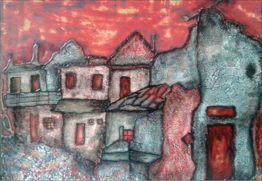 The love of life through paintings by disabled artists