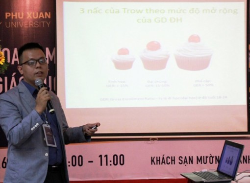 Phu Xuan University holds talk on higher education issues in Vietnam