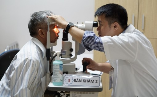Free ophthalmology examination, consultation and treatment for 2,000 patients