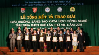 Thua Thien Hue Science and Technology Innovation Awards launched