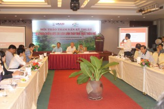 Workshop on draft ecotourism strategy in Quang Nam and Thua Thien Hue