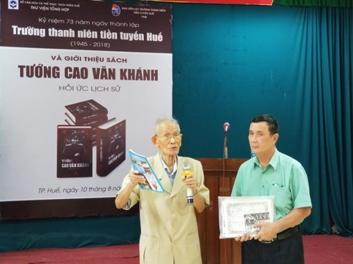 Hue city celebrates the 73th anniversary of the Frontline Youth School