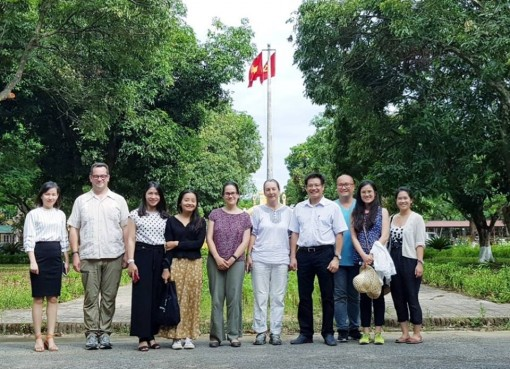 Hue Monuments Conservation Centre cooperating with 'Site and Space in Southeast Asia' in doing research