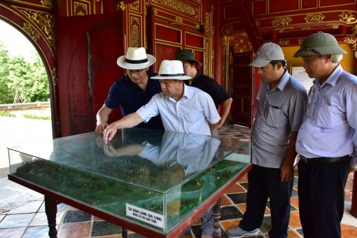 Integrating management, preservation and promotion of the value of Hue's heritages