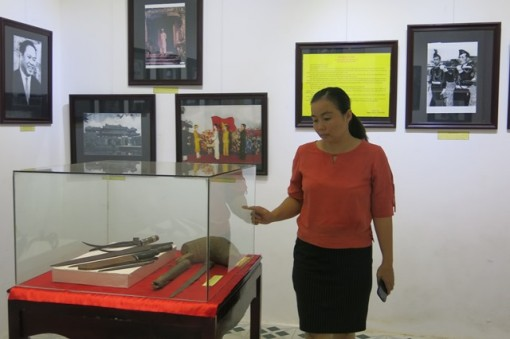 """Exhibition of """"Hue on Historic Days in August 1945"""" opened to the public"""
