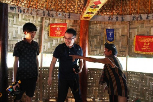 The Co Tu ethnic group's Guol House in Thuong Quang inaugurated