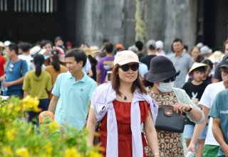 60 thousand tourist arrivals in Hue on the occasion of National Day