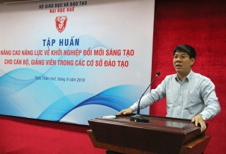 Officers and lecturers in Central Vietnam - Central Highlands areas trained on innovative and creative startup