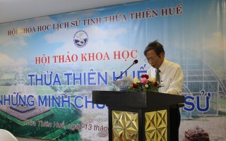 "Hue City organizes the workshop ""Thua Thien Hue - Historical evidences"""