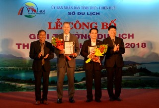 Thua Thien Hue Tourism Awards honors to twelve leading tourism businesses