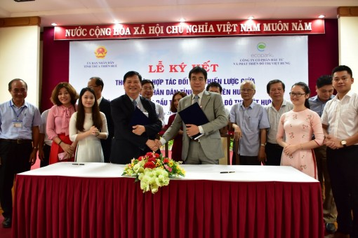 Thua Thien Hue signs cooperation agreement with Vihajico