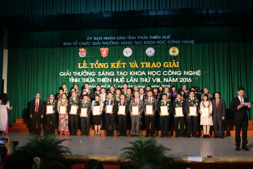 61 topics participate in Thua Thien Hue Science Technology Creation Award