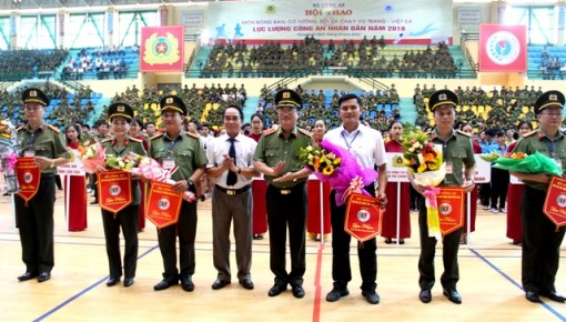 Over 1,600 athletes participating in People's Public Security Forces Sport Festival in Hue