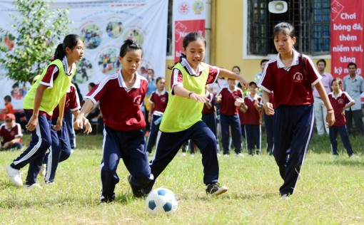 The model of community football in Hue will be expanded to many places