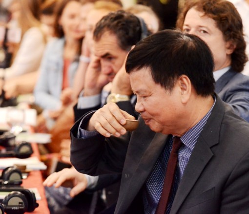 Representatives of 18 countries participate in the Tea Master International Competition in Hue