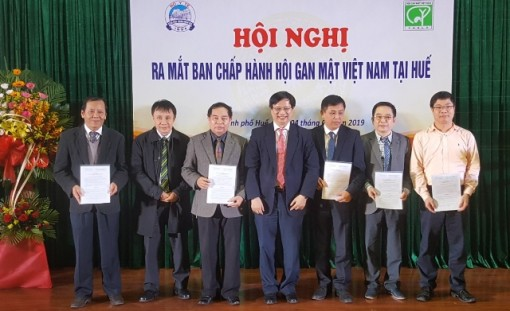 Executive Board of Vietnam Association for the Study of Liver Diseases - the Central-Highlands region chapter was elected