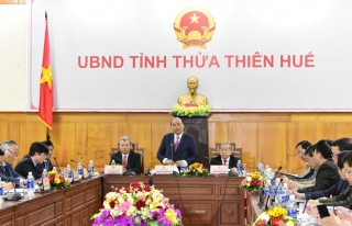 The Prime Minister pledged to provide resources and mechanisms for Thua Thien Hue
