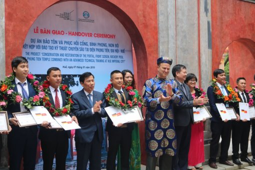 Germany will continue to help Vietnam implement heritage conservation projects