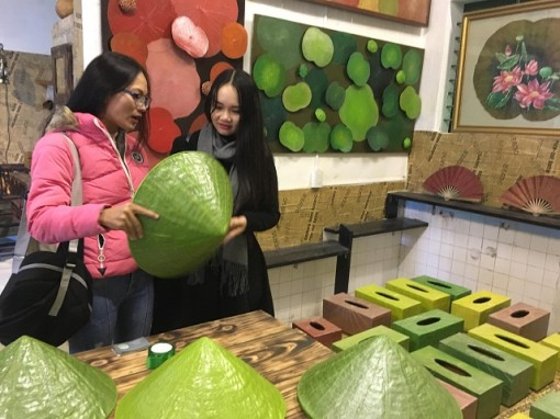 Hue: Inaugurating community learning center and start-up craft village