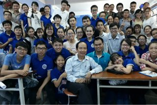 Prof. Tran Huu Dang, the inspiration for the young generation
