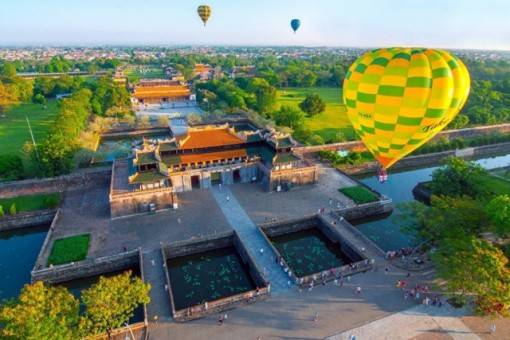 Hue International Hot Air Balloon Festival 2019 to take place from April 26 to May 2