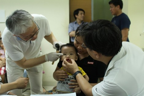 Global Care-Korea in cooperation with Hospital of Hue University of Medicine and Pharmacy carries out Free cleft lip/palate surgeries