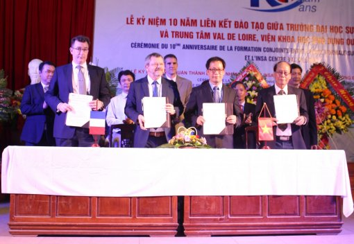 University of Education celebrates 10th anniversary of joint training program of INSA Val de Loire Engineer