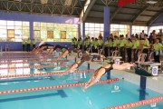 Over 200 athletes participate in the national swimming and diving championship