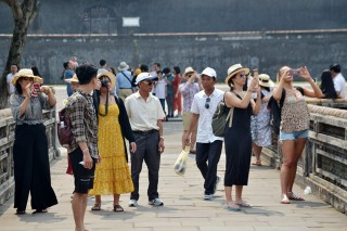 Around 1.25 million visitors come to Hue in the first quarter