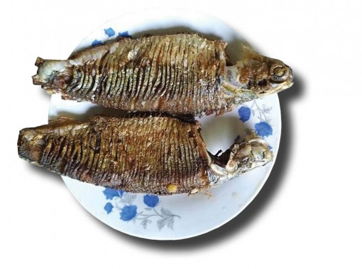 Buttery and greasy grilled sardines