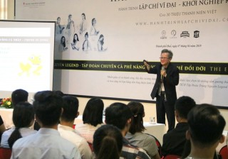 "Dr. Tran Huu Duc shared with Hue students: ""Tips for success for individuals"""