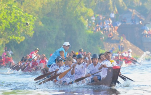 Duong No's racing boats
