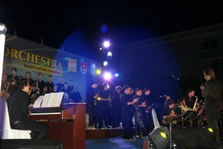 State Youth Jazz Orchestra of Baden-Württemberg performs in Vietnam-Germany Friendship Concert