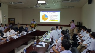 Training on professional liver transplant techniques at Hue Central Hospital