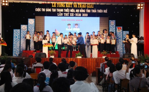 59 topics are awarded in the Provincial Children and Youth's Creativity Contest 2019