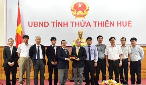 JICA supports Thua Thien Hue in developing green and sustainable urban
