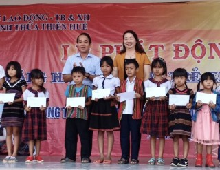 Joining hands for poor and ethnic minority children
