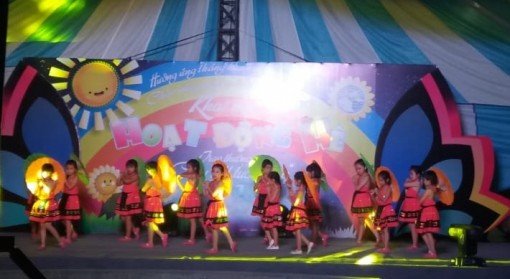 """Opening of summer activities and awarding """"Young writer's pen"""""""