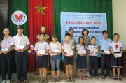 Awarding 31 scholarships to orphans and disabled children