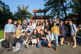 Hue is educational travel destination of Japanese tourists
