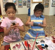 """The French Institute in Hue organizes """"Storytelling with puppets"""" program"""