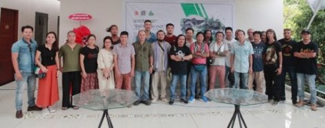 11 Hue artists participating in an art creation camp in Da Nang