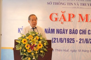 Upgrading Thua Thien Hue press position to national level