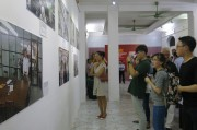 Opening the exhibition