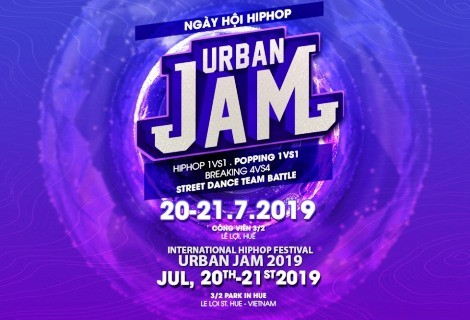 Hue Hiphop - Urban JAM Festival 2019 to take place on July 20 - 21