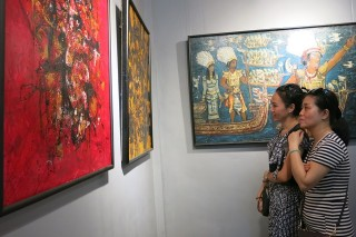 Opening the art gallery of Vinh Phoi the Artist