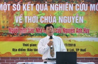 Nguyen Anh Huy the researcher, has a talk about the Nguyen Dynasty